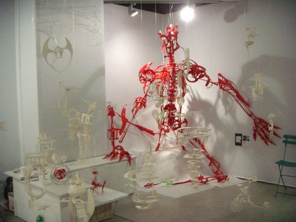 Mecha type H - mac paris sculpture 2011