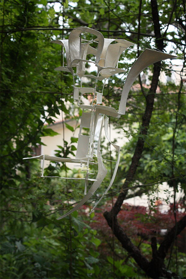 Sculpture suspendue - sculpture suspension - module x